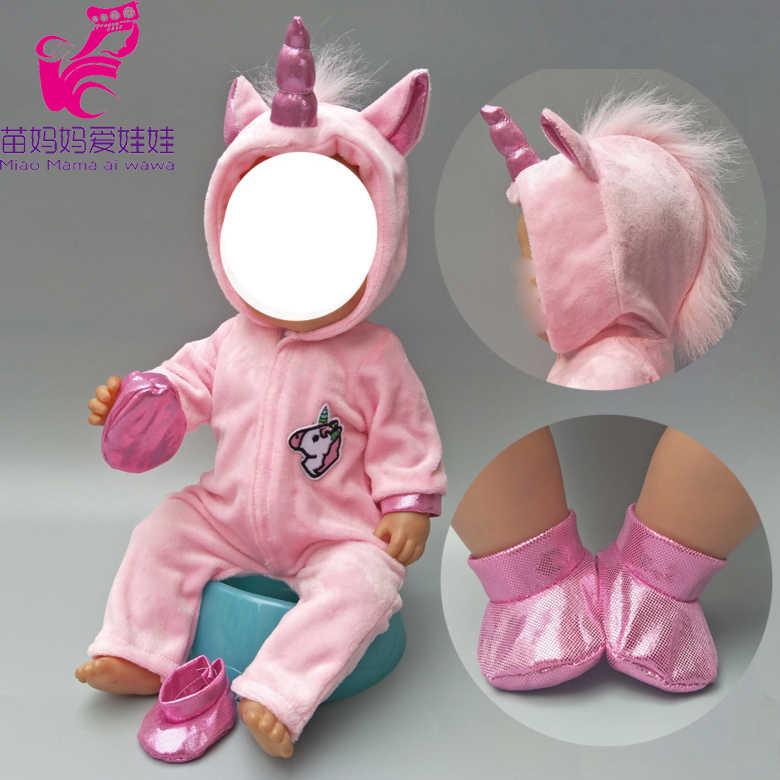 Детские куклы одежда для 43 см для ухода за ребенком для мам малышей Bebe кукла милое худи с кошкой набор для 40 см кукла куртка зимняя одежда