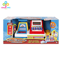 Children Supermarket Cash Register Play Set Toy with Checkout Scanner Pretend Play Funny Toys