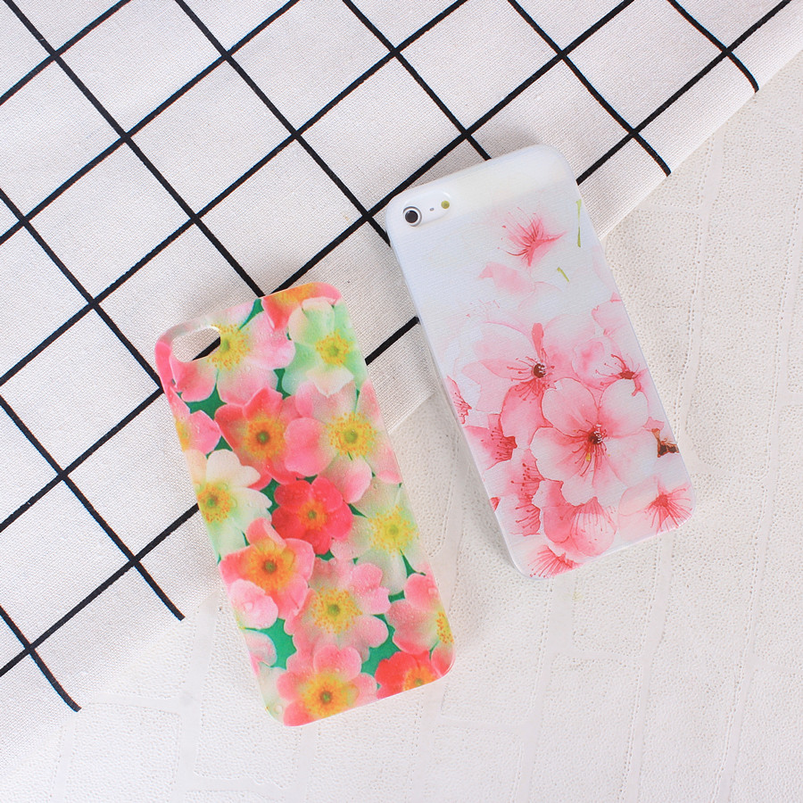 Soft Silicone Tpu Back Cover Case For Iphone 6 S 6S 7 8 Plus 5 5S X Beauty Flower Phone Cases For iPhone 7 7Plus 8Plus 10 Coque
