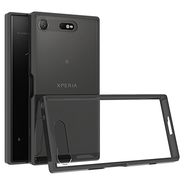 info for e0384 423a0 for Sony Xperia XZ1 Case for Sony XZ1 Compact Bumper TPU Clear Hard Cover  for Sony Xperia XZ1 Compact Case Cover for Sony XZ1