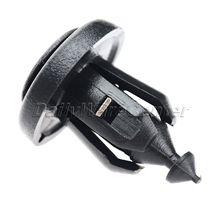 50 Pcs/lot Fastener 10mm Dia Hole Black Plastic Push Rivets Clips for Car Auto Automobile Door Bumper Fender Cover Trim Clip