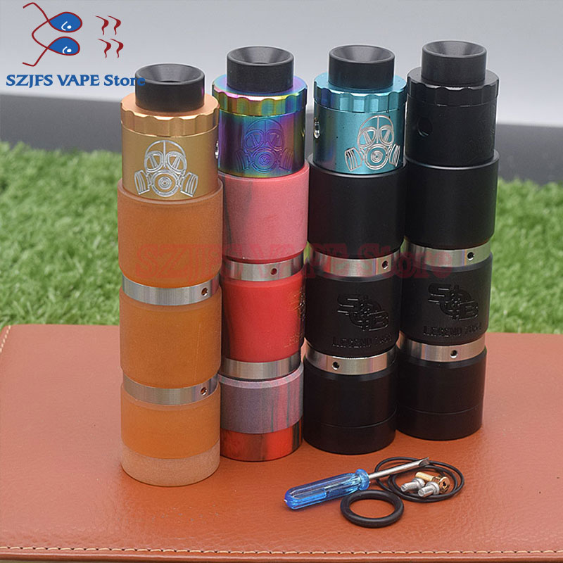 New Sob Mod Kit 18650 Battery Vaporizer Mechanical Vape Electronic Cigarette Kit Vs Attto  Vindicator 25 Mod Avidlyfe Mod Vape