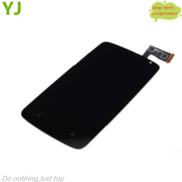HK Free shipping For OEM LCD Screen and Digitizer Assembly for HTC Desire 500 506E - Black