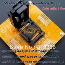 цена на FPQ-128-0.5-03Test Socket IC Socket  TQFP128 QFP128 LQFP128 FPQ128 Test Socket  Pitch:0.5mm