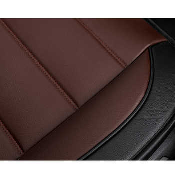 KADULEE pu leather Car Seat Cover for renault clio logan Megane 2 3 Duster Kangoo Kolo automobiles seat cover auto accessories
