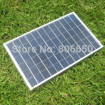 Hot* 20W 2PCS 10w 12V poly  solar panel,10w 12 v  solar module for battery charge, free ship to worldwide