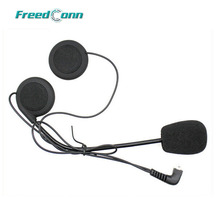 T-COMVB T-COMSC FDC-01VB Hard Wire Microfono e Altoparlante per Moto Open viso/Metà/Flip Up Casco Bluetooth Citofono