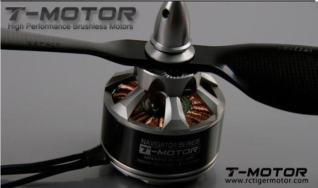 T-Motor 4-8S MN4014  400KV&330KV   Brushless Motor NAVIGATOR SERIES High End for Octocopter Hexacopter
