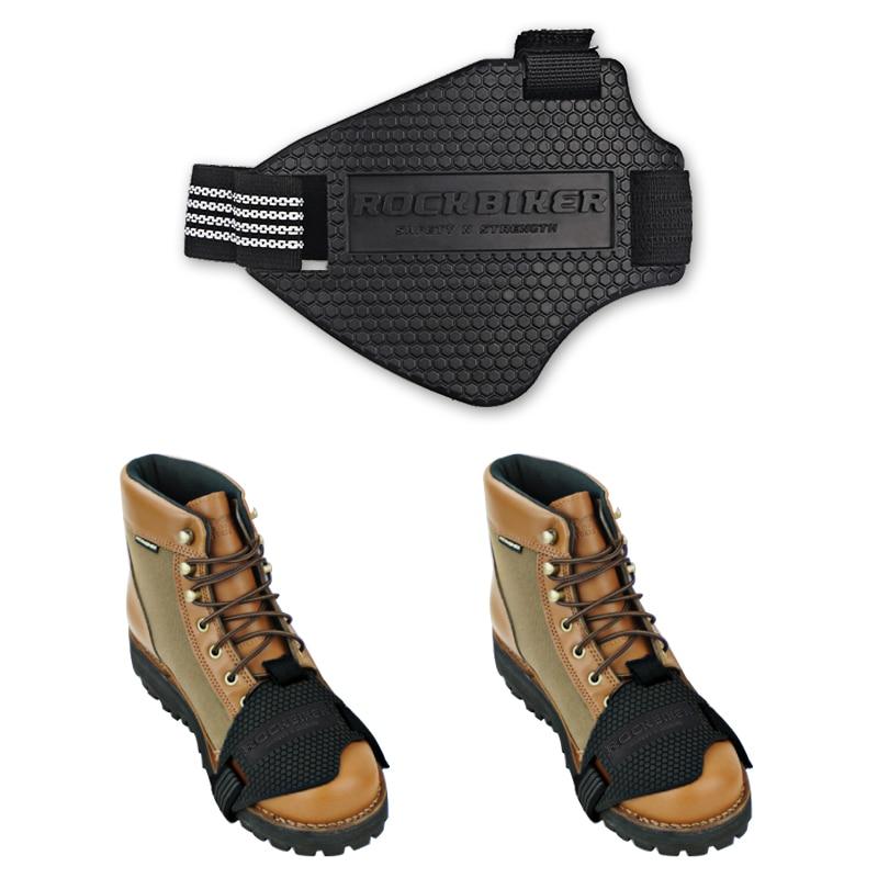 MoreChioce color negro Protector de botas de cambio reutilizable antideslizante