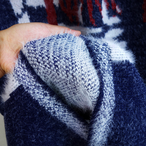 Image 5 - נשים סתיו ארוך מינק קשמיר סוודר קרדיגן נקבה אנגורה סריגה מעיל באיכות גבוהה