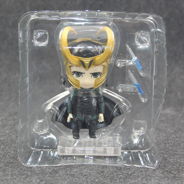 Фигурка Локи 10 см комплект из 2 шт. Marvel нендроид ПВХ 1