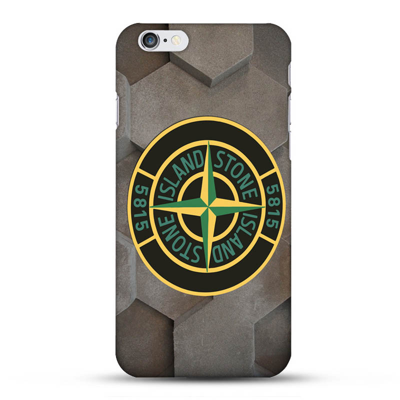 Green Stone Island Chic Stronger TPU Case For Iphone 7 Customzied Item Fashion On