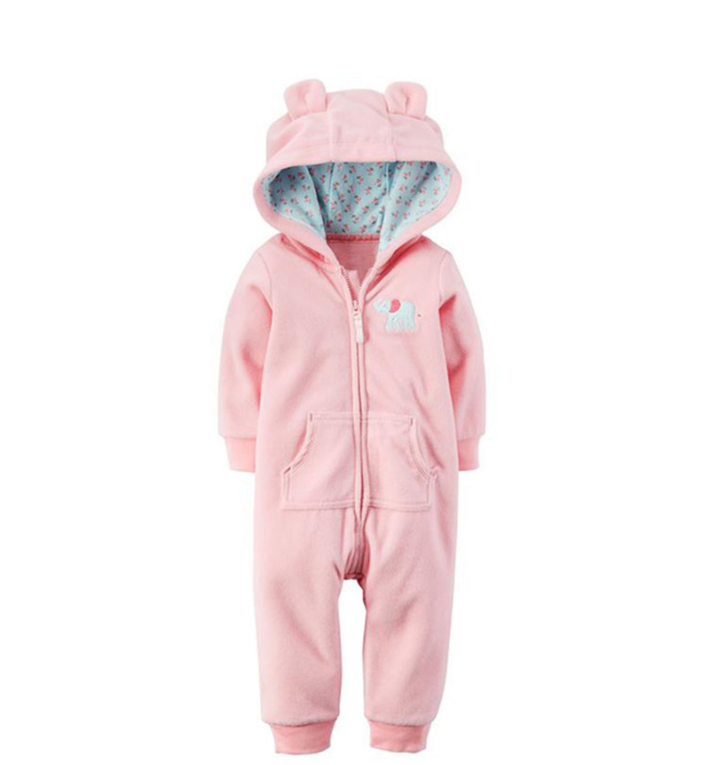 HTB1t0FtoKuSBuNjSsziq6zq8pXa5 2019 Fall Winter Warm Infant Baby Rompers Coral Fleece Animal Overall Baby Boy Gril Halloween Xmas Costume Clothes Baby jumpsuit