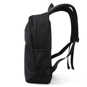 Image 3 - MOYYI سليم محمول على ظهره الرجال مكتب العمل الرجال حقائب الظهر حقيبة أعمال الأسود سوبر الجودة أكسفورد المضادة للتجاعيد أكياس