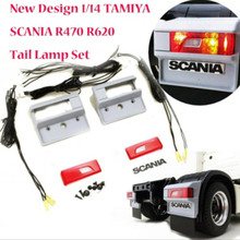 New tamiya scania truck taillight brake/turning/reverse led light for 1/14 scale rc scania R620 56323 R470 tractor trailer truck