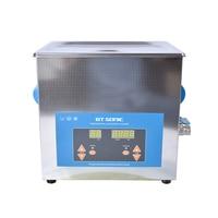 1PC Digital VGT 1990QTD 110/220V Professional Ultrasonic Cleaner Jewelry Bath Household 9L 200W Free Basket