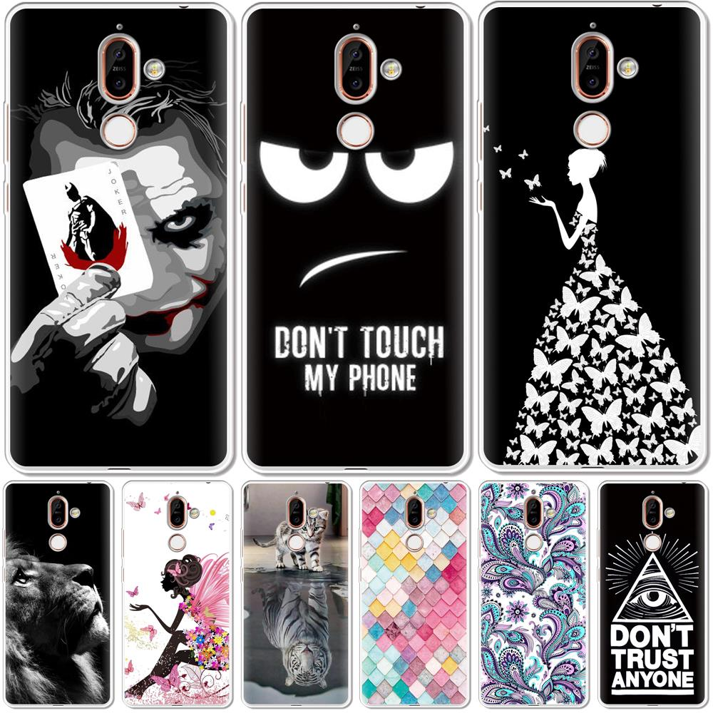 Cute Cartoon Case For <font><b>Nokia</b></font> 2 3 4 5 6 7 2018 <font><b>2019</b></font> Soft Silicone Back Cover For <font><b>Nokia</b></font> 2.1 2.2 3.1 <font><b>3.2</b></font> 4.2 5.1 6.1 7.1 Plus Case image