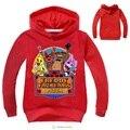 Мальчик одежды мультфильм детей футболки пять ночей в фредди одежда camiseta детская одежда мальчики футболки 5 freddys DC987