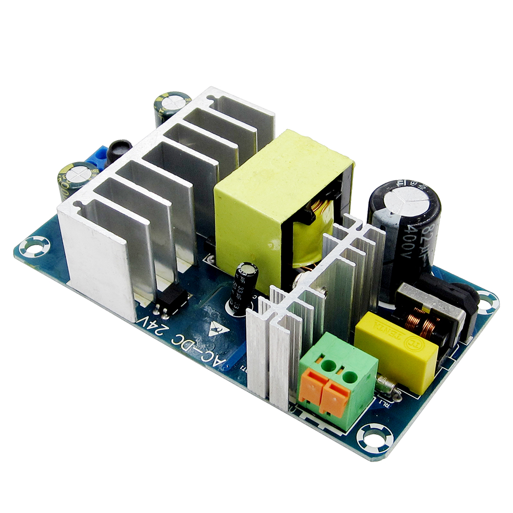 new 10PCS AC 100 240V to DC 24V 4A 6A switching power supply module AC DC