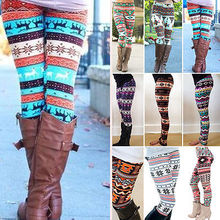 Winter Warm Christmas Snowflakes Leggings