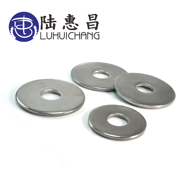 Luchang Free Shipping 50Pcs M5 M6 <font><b>M8</b></font> 304 Stainless Steel Large Size Flat <font><b>Washer</b></font> Bigger Metal Gasket Meson Plain <font><b>Washers</b></font> image