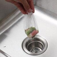 30 pçs/set sacos de lixo de limpeza pia criar sacos de lixo de cozinha ferramenta