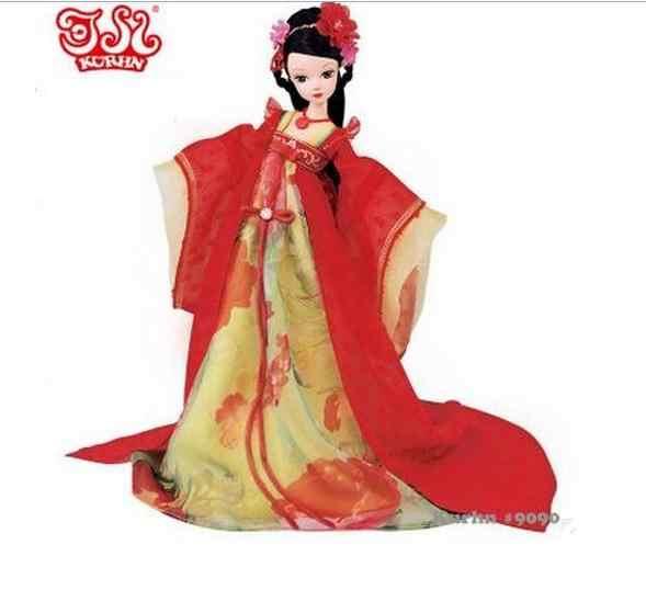 Kurhn Кукла китайские древних невесты куклы династии Тан невесты куклы для девочек игрушки для детей Детские игрушки для детей Подарки для девочек игрушки