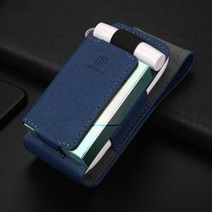 Image 3 - Luxus Leder Tragbare Abdeckung Fall Für IQOS 3 Tasche IQOS 3,0 Multi Schutzhülle Zigarette Fall Abdeckung Für IQOS 3,0 Multi tragetasche