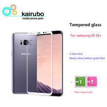 3D 0.26mm Anti-Explosion Tempered Glass for samsung galaxy s8 screen protector film 9h Explosion-proof S8 Plus Film