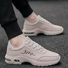 Fashion Outdoor Men Casual Shoes Mesh Running Non-slip Sports Round Toe Male Sneaker 2019