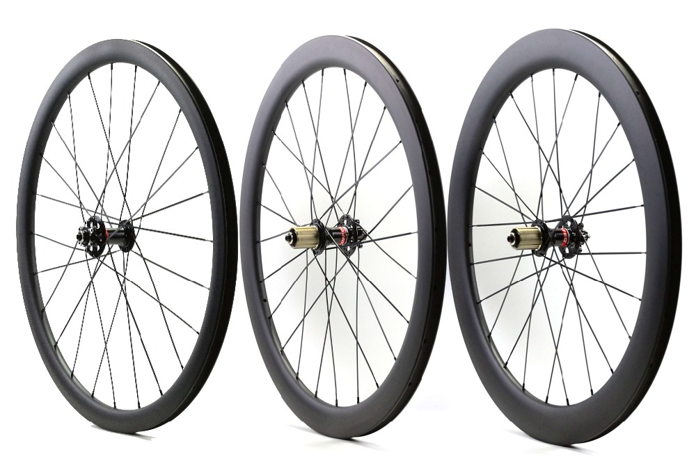 Wholesale! 38/50/60mm depth road bike disc brake carbon wheels 25mm width Clincher/tubular cyclocross carbon wheelset цена