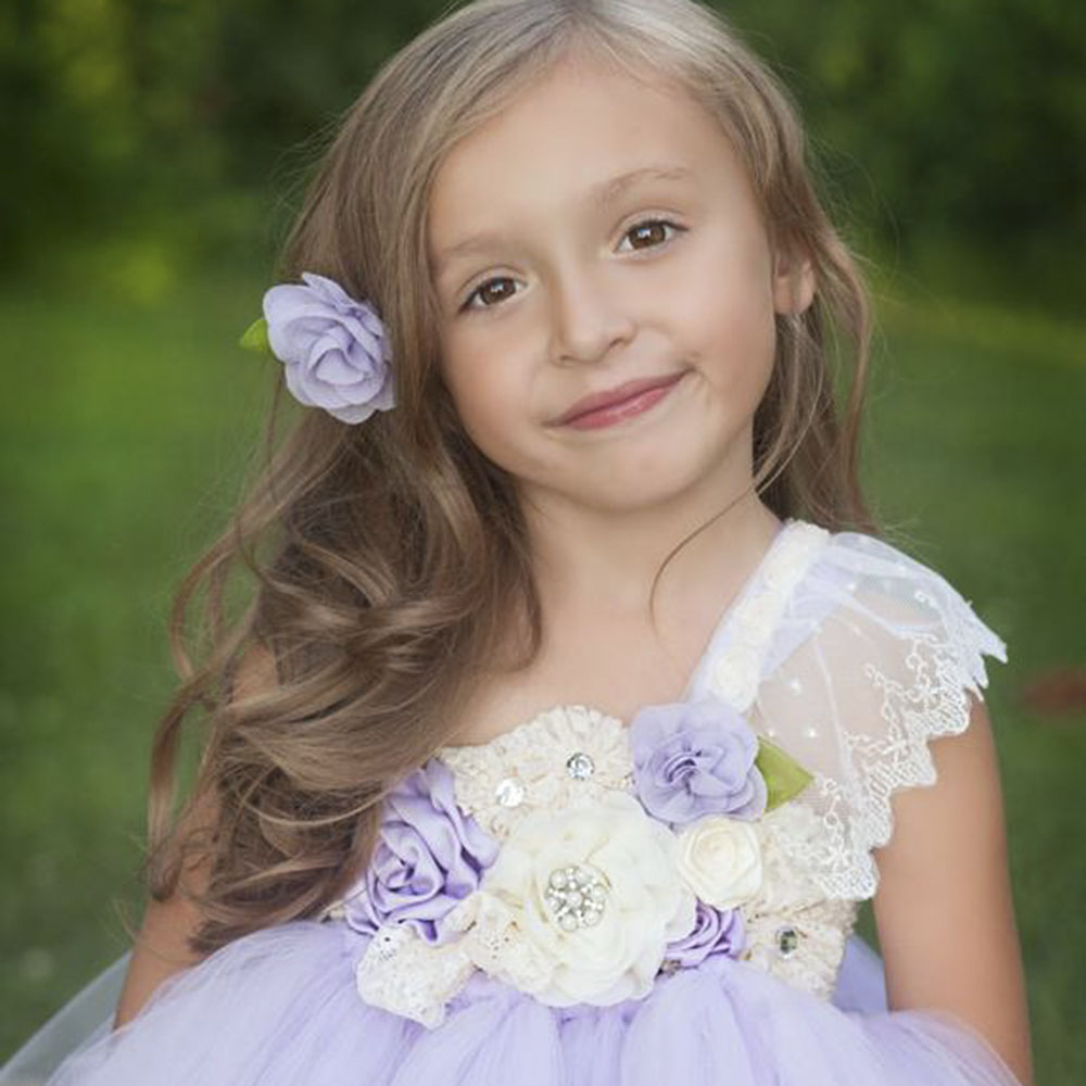 Lilacs Toddler Girl Christmas Tutu Dress Girls Frock Children Nova Ankle Length Lace One Shoulder Dress Kids Costume Princess 8T (26)