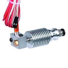3D V6 междугородние j-глава hotend для 1.75 мм/3 мм 3D Боуден экструдера 0.2/0.3 /0.4/0.5 мм Насадка для RepRap 3D принтера