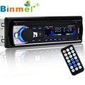 Bluetooth Estéreo Del Coche CD de Audio En el Tablero de FM Receptor de Entrada Aux SD MP3 USB Reproductor de Audio MP3 Del Coche Manos Libres de Radio control Remoto N1213