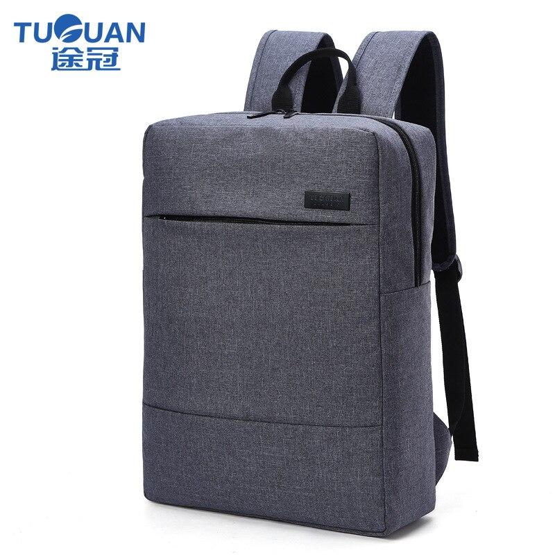 Herrentaschen Neue Tuguan Marke Koreanischen Stil Unisex Männer Professional Business Laptop Rucksack 15,6 Computer Rucksäcke Frauen Schulter Schule Tasche