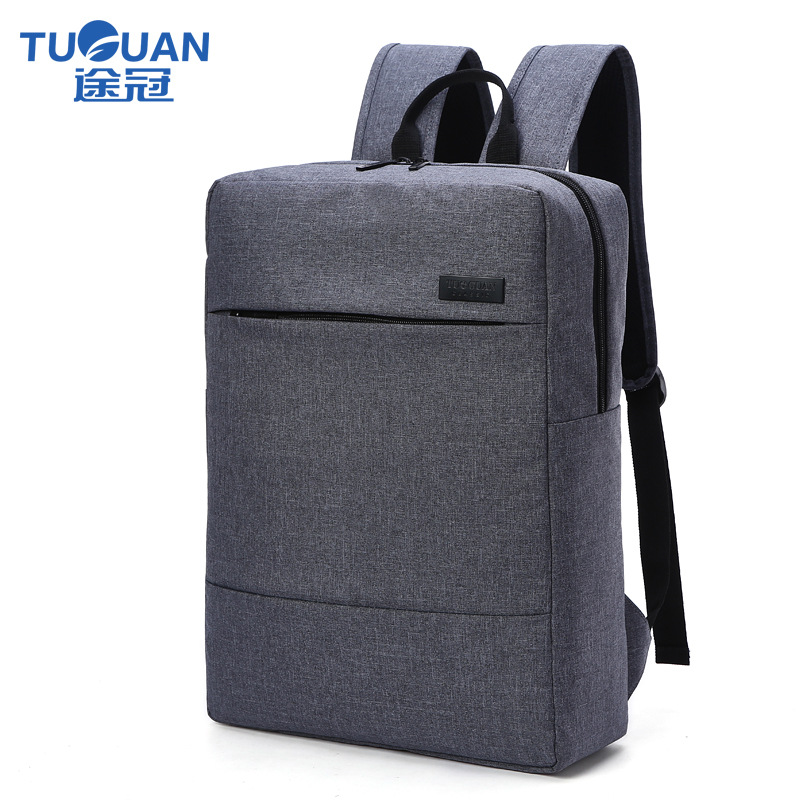 New TUGUAN Brand Korean Style Unisex Men Professional Business Laptop Backpack 15.6 Computer Backpacks Women Shoulder School Bag kingsons brand waterproof men women laptop backpack 15 6 inch notebook computer bag korean style school backpacks for boys girl