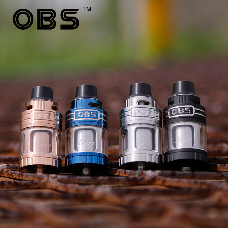 100% Original OBS Engine RTA 5.2ml Tank RBA Atomizer Side Filling Top Air Flow Electronic Cigarette Tank VS OBS Crius Tank Vape постельное белье унисон постельное белье реми 2 спал