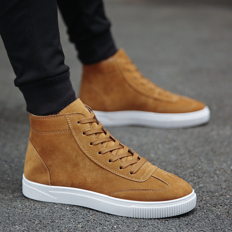 New Arrivals Men Boots Comfortable Wear-resisting Ankles Boots Zapatillas Deportivas Male Working Sneakers Fashion Casual Shoes Men's Shoes