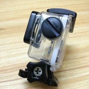 Image 2 - Akcesoria do aparatu wodoodporna obudowa ładowarka shell kabel USB do SJCAM SJ4000 powietrza Sj9000 C30 C30R EKEN H9R dla motocykli Clownfish