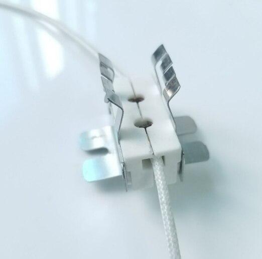 20pcs Ceramic GX9.5 Lamp Holders For 250v 650w Light