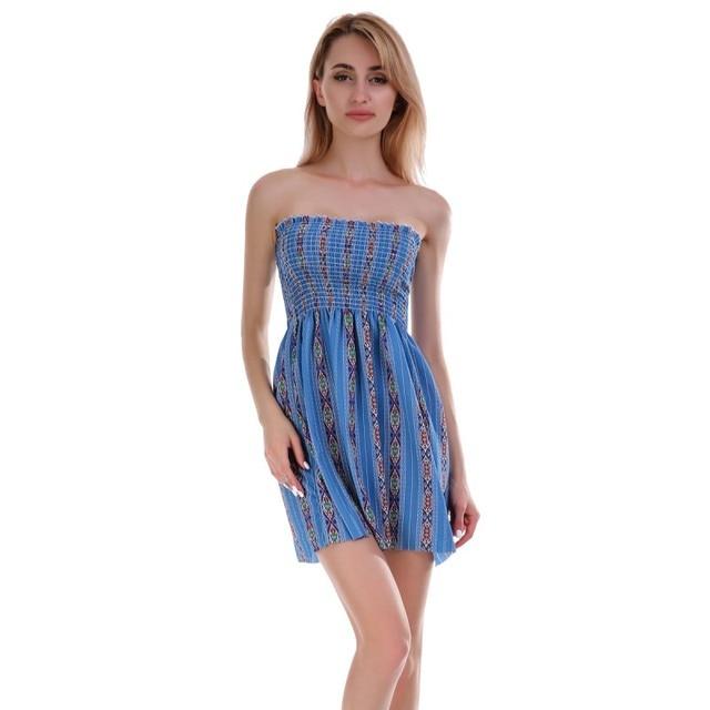 4fc23c3491d 2018 New Fashion Women Sexy Off Shoulder Kimonos Dress Slash neck strapless  Mini beach dresses Hot cute girl