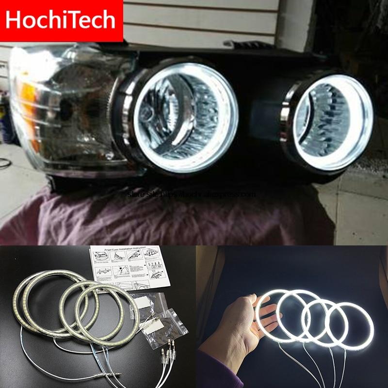 HochiTech pour Chevrolet Aveo 2011-2014 Ultra lumineux SMD blanc LED ange yeux 2600LM 12 v halo anneau kit éclairage diurne DRL