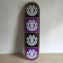 Original ELEMENT Skateboard Deck made by Canadian Maple 8″ Deck For Skateboard Green Pattern Skate Shape Patins Street