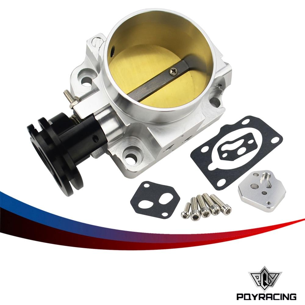 PQY RACING - 64mm Pro Series Throttle Body For 99-05 Mazda MX-5 Miata BP-4W BP-Z3 NEW PQY-TTB20S lzone racing new throttle body for rsx dc5 civic si ep3 k20 k20a 70mm cnc intake throttle body performance jr6951