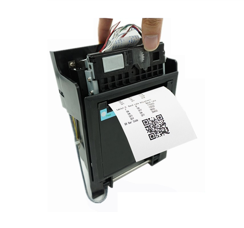 US $78 0 |Unique locker design 80 mm thermal kiosk printer with LED  indicator,Front Panel easy paper load and maintenance parking printer-in  Printers