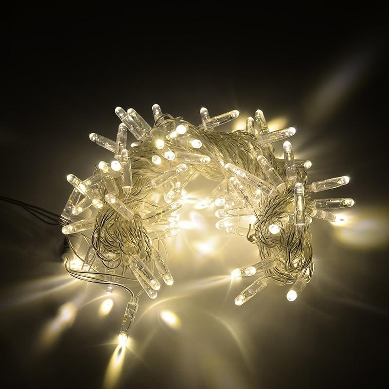 Outdoor High Waterproof IP68 LED light chian party decoration christmas lights string decoration navidad festival lighting