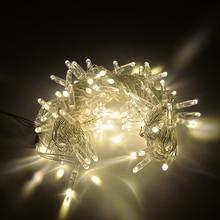 Открытый высокой водонепроницаемый IP68 светодиодный свет chian партия украшения рождественские огни строка украшения навигация праздник освещения