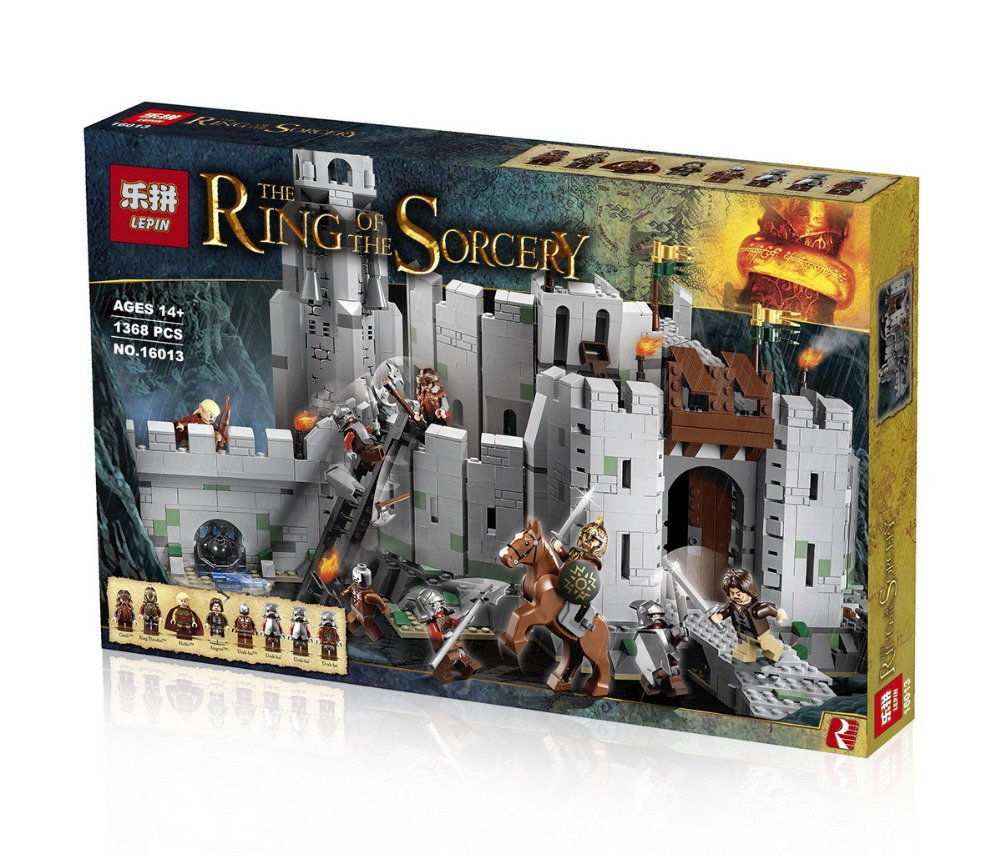 2017 Hot 16013 The Lord of the Rings Series The Battle Of Helm' Deep Model Building Block Bricks figures Compatible 9474 16013 castle knights the lord of the rings series the battle of helm deep model building blocks bricks toys for kids 9474 lepin
