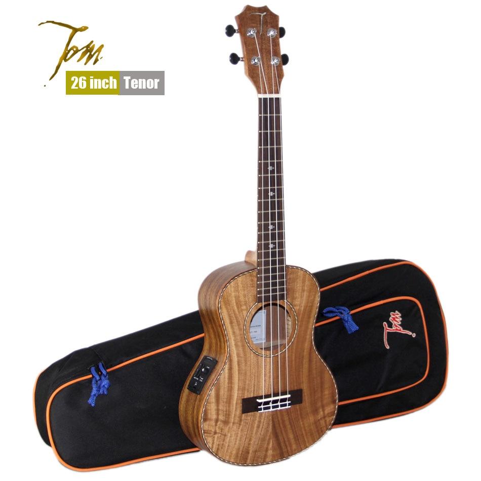 TOM ukulele Guitarra fábrica Tenor TUT-700 importar instrumentos musicales con E