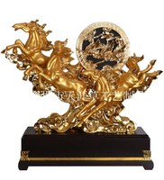 62 cm King Resin crafts home decoration ornaments resin ornaments Horse ornaments wholesale